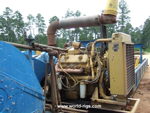 Mac 400 Mechanical Drilling Rig 450 Hp For Sale Land