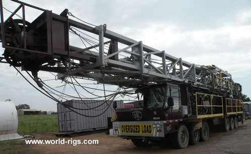 Sk 775d Carrier Mounted Drilling Rig For Sale Land Rigs