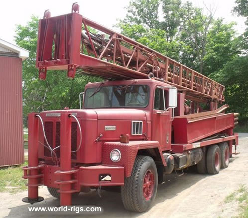 Ingersoll rand th60 drilling rig for sale water well drilling rigs