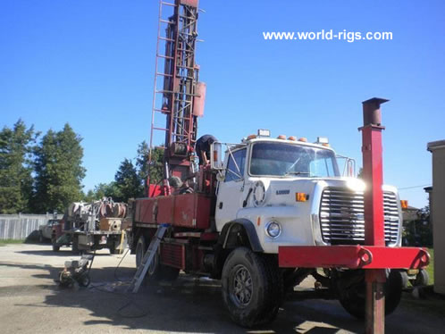 Schramm T450w Drilling Rig For Sale Land Rigs For Sale