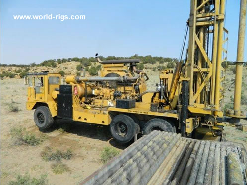 Water well rigs used water well rigs pre owned water well rigs ingersoll rand t4w water well drill rig for sale sciox Choice Image