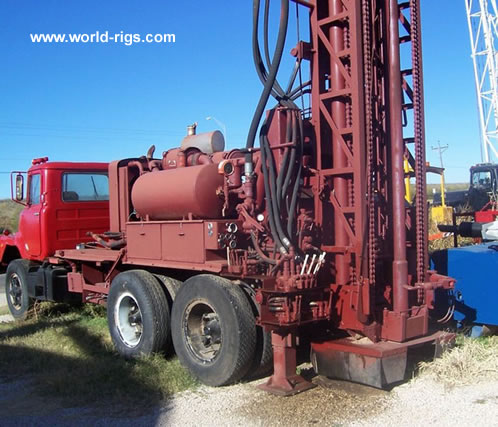 Schramm T64hb Used Drilling Rig For