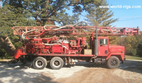 Th60 drill rig for sale worldrigs id wr119 sold model th60 drill rig