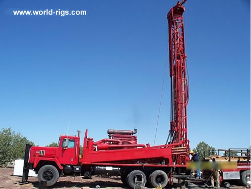 Ingersoll Rand Th75 Used Drill Rig For
