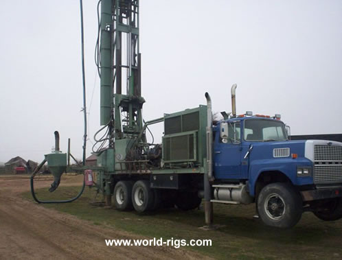 Gardner Denver Falcon 40 Rc Reverse Circulation Drill Rig For