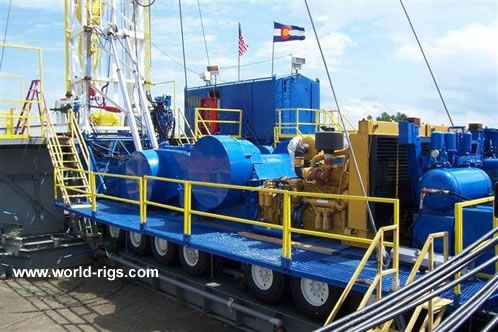 Ideco H 1000 Drill Rig With Oil Amp Gas Package For Sale