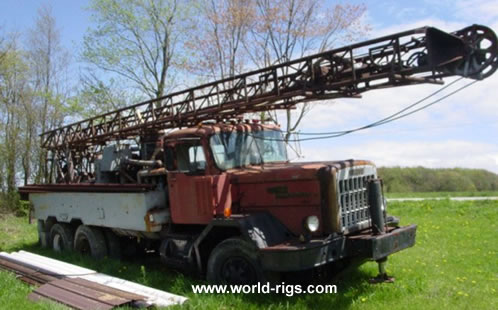 Davey M-8 Drill Rig for Sale