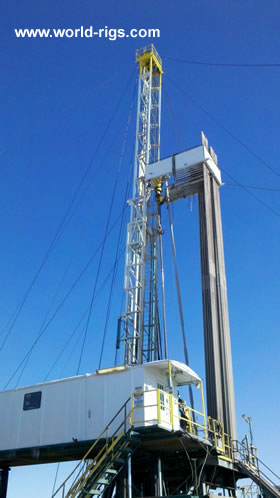 Service King Sk 775 Series 1000hp Drilling Rig For