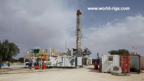 Sedlar 160 Self Elevating Drilling Land Rig For