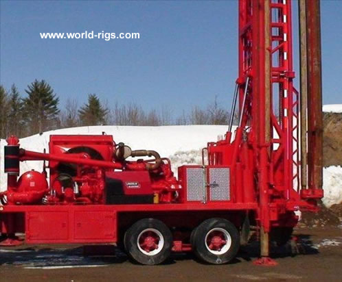 Ingersoll Rand T4w Drilling Rig For Sale Land Rigs For