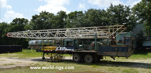 Layne-Ark Table Drive Drill Rig for Sale
