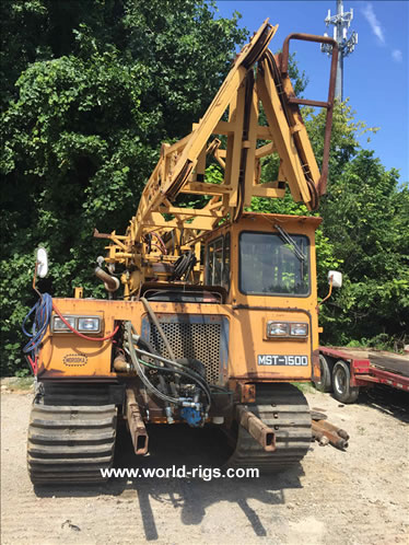 Acker Soilmax Crawler Drill Rig for sale
