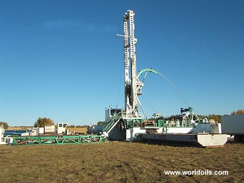 Foremost CTR Single Coil Tubing Hybrid Drilling Rig