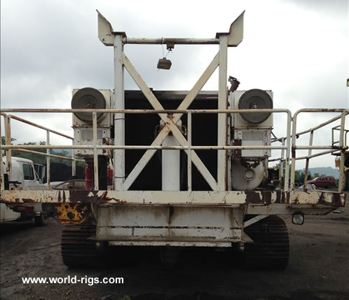 Driltech Crawler D-75K Drilling Rig For Sale