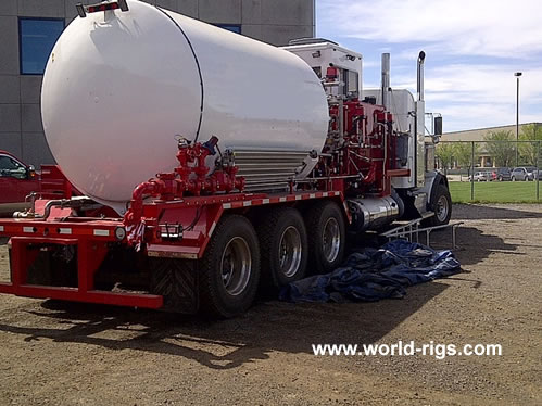 Used Kenworth Triaxle Nitrogen Unit