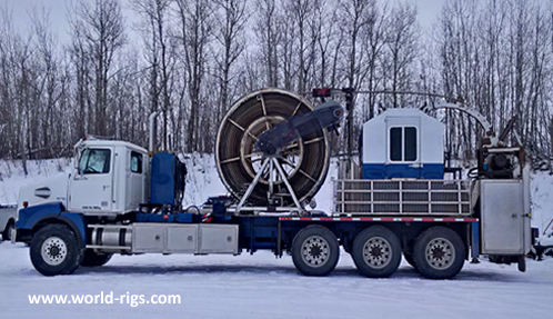 Western Star Coiled Tubing Rig for Sale
