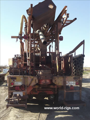 1974 Built Speedstar Ss200 Drill Rig For Sale Land Rigs