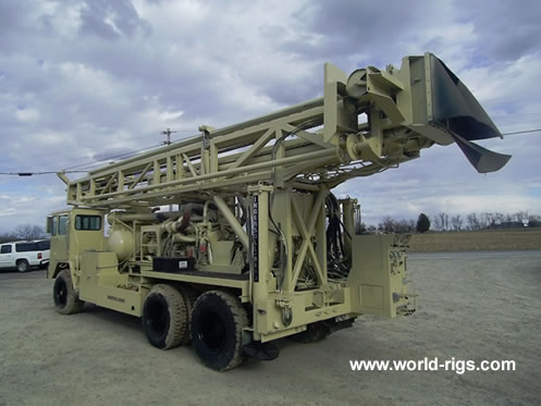 1985 Ingersoll-Rand T4W Drilling Rig For Sale