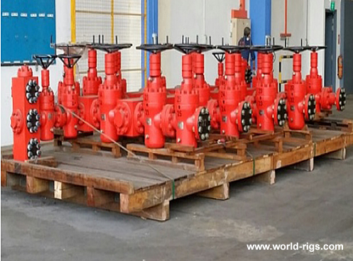15K WOM Choke Manifold For Sale Drilling Equipment For Sale