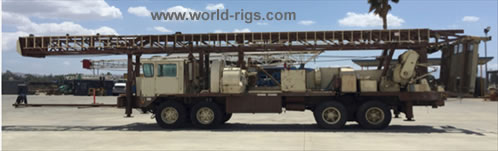 Speedstar SS-22 Mud Rotary Drill Rig for Sale