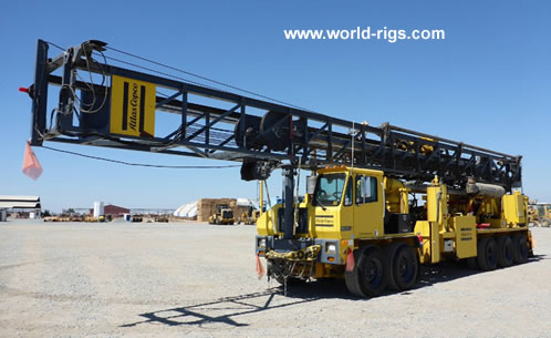 Atlas Copco Rd20 Range Iii Drill Rig For