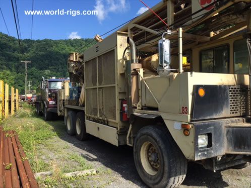 Ingersoll-Rand T4W Drill rig 2004 Built for Sale