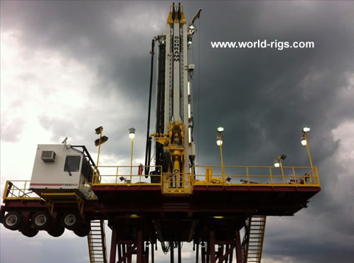 Schramm T500XD 1500HP Drilling Rig - for Sale