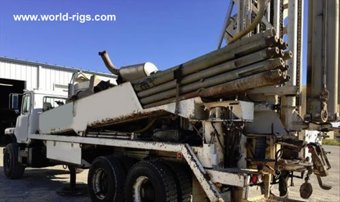 1998 Driltech T25K5W Drill Rig For Sale