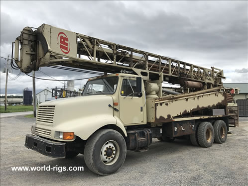 Ingersoll-Rand T3W Drilling Rig For Sale