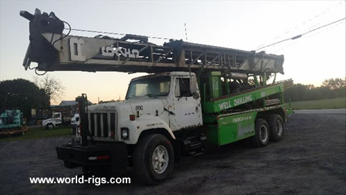 Reichdrill T625W Drill Rig for Sale