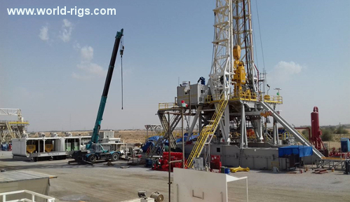 1500hp Top Oilfield Triple SCR Land Drilling Rig for Sale