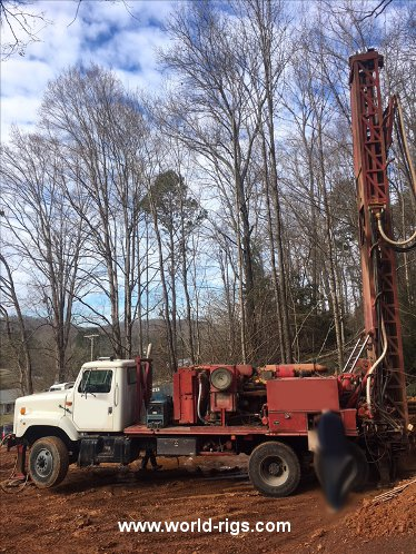 1969 Built Schramm Drilling Rig For Sale in USA