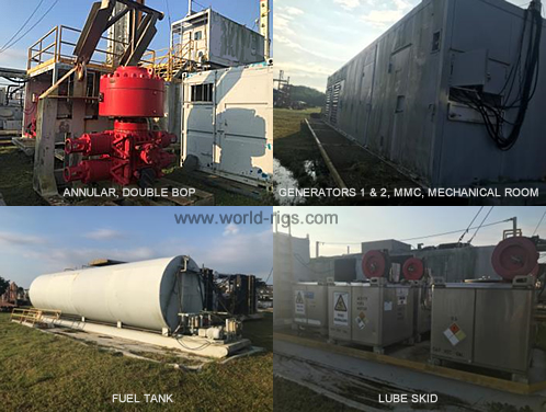 Land drilling rigs for sale