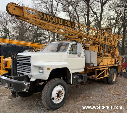 1989 Built Mobile B61 Drilling Rig for Sale
