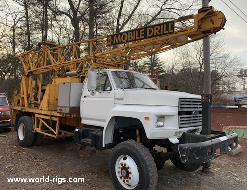 Mobile B61 Drilling Rig For Sale
