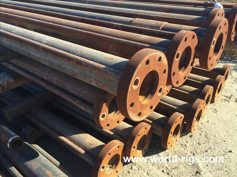 1000 Ft of 6in ID of Flanged Drill Pipe for Sale