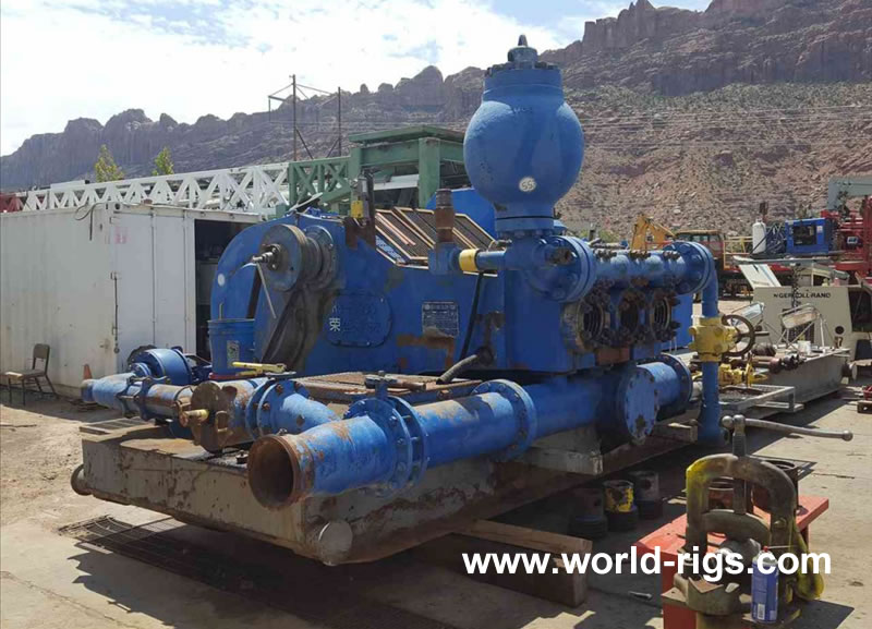 Rongsheng Machinery F-1000 Triplex Mud Pump for Sale
