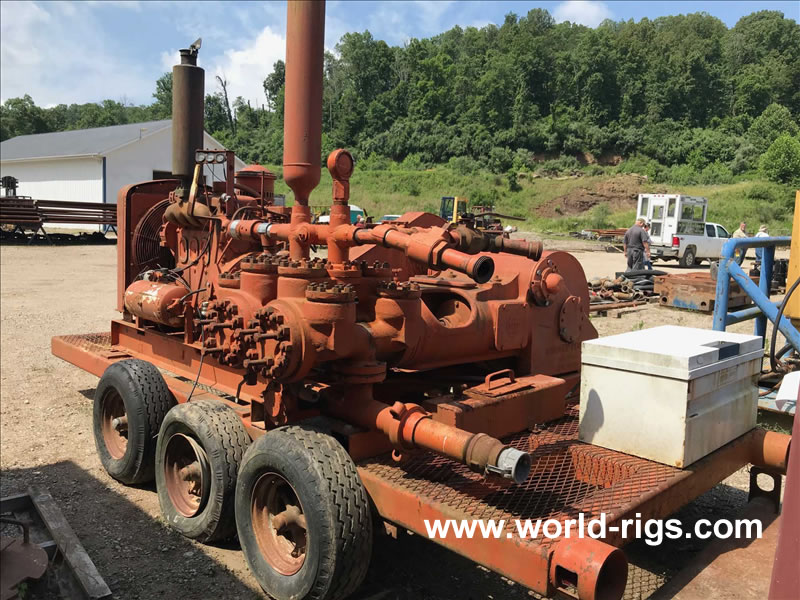 Gardner Denver 5 x 8  Duplex Mud Pump for Sale