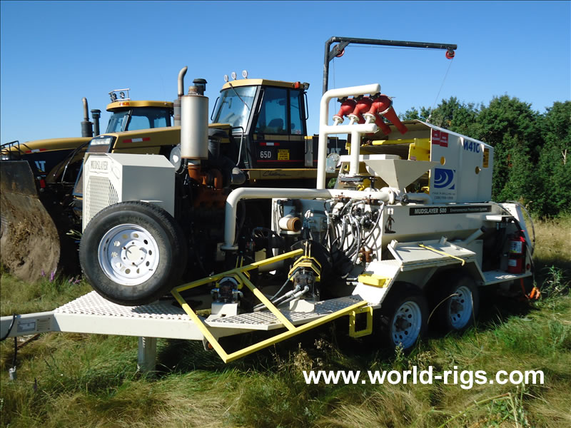 2010 Environmental Protection Mud System for Sale