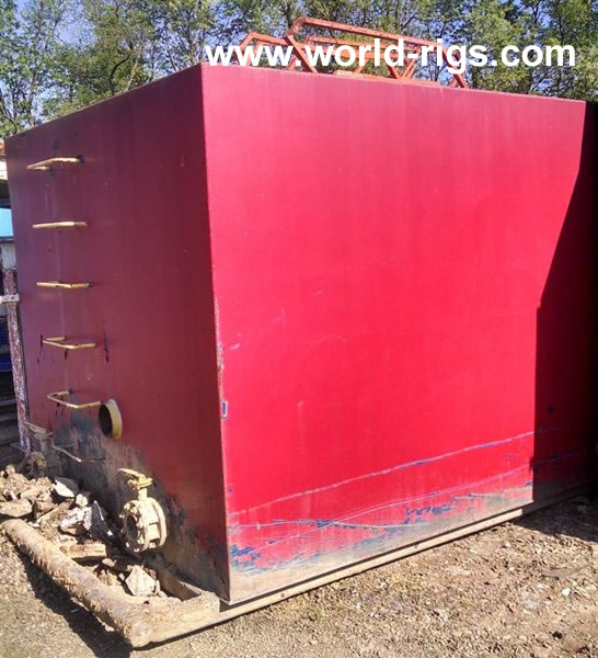 "Mud Tank (40' L x 96"" W x 83"" H) for Sale"