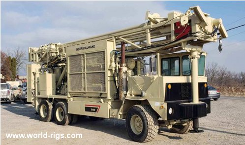 Ingersoll-Rand T4BH Drill Rig for Sale