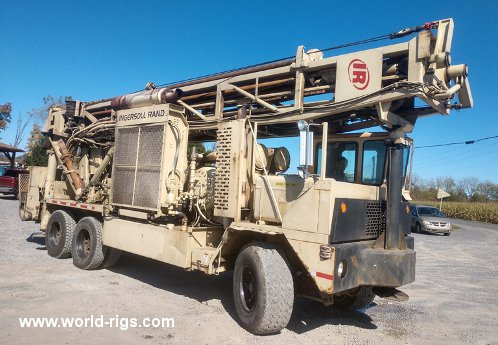 Ingersoll-Rand T4W Drilling Rig - 1995 Built for Sale