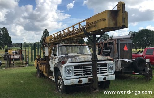 Speedstar Quickdrill Drilling Rig - For Sale