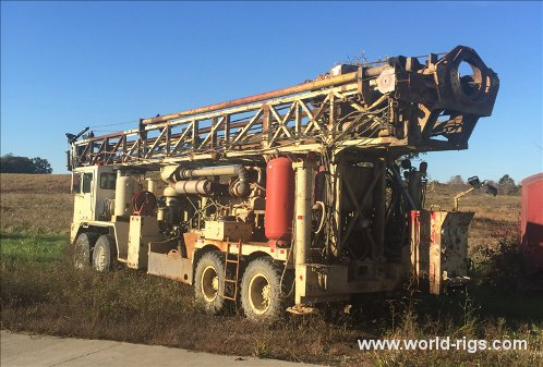 Ingersoll-Rand T4W LT Range II Drilling Rig - For Sale