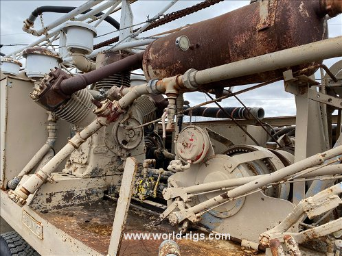 Failing Used Drilling Rig for Sale in USA