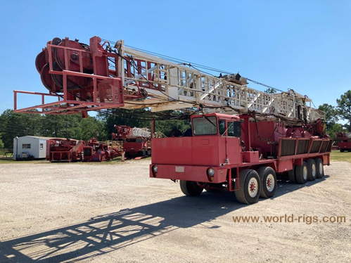 1984 Built Ideco Rambler Workover Rig for sale