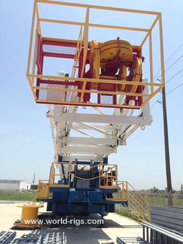 Used Trailer Mounted Drilling Rig for sale