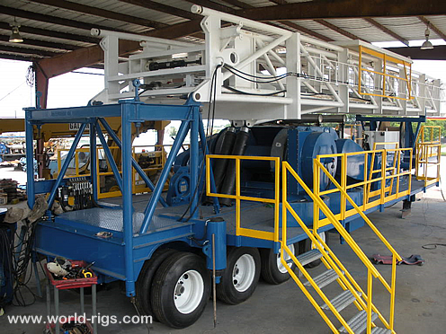 Reconditioned 900HP Trailer Mounted Drilling Rig
