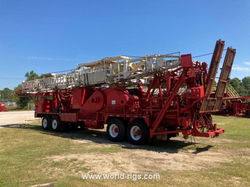 Ideco Backin Rambler Workover Rig for Sale