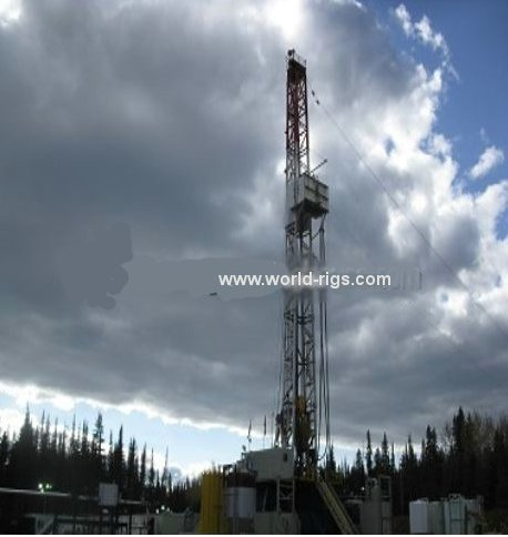 1200 HP SCR Tesco Top Drive Drilling Rig for Sale